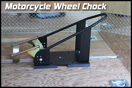 Roll On Motorcycle Wheel Chock